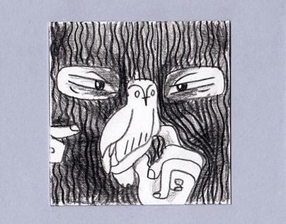 Owls comic stripe (Стрип Совы)