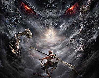 Reincarnation demon king-Movie Poster