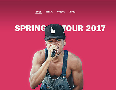 Chance the Rapper Redesign Concept