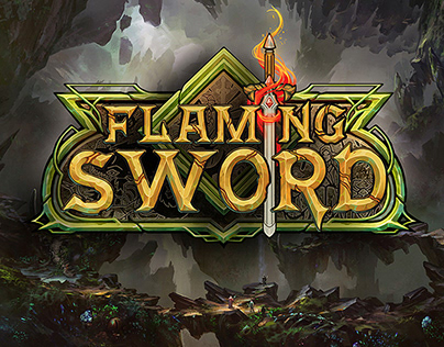 Flaming Sword - Logo Design