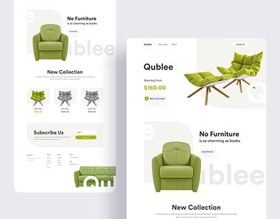 Qublee Landing Page