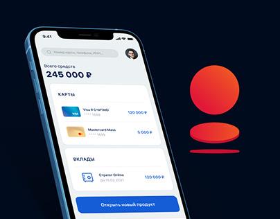 Bank Saint-Petesburg App Redesign Concept