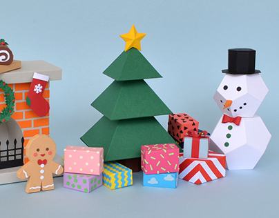 12 Days of (Paper) Christmas