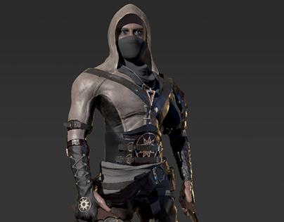 3D Assassin gif