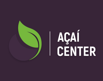 AÇAÍ CENTER | Brand