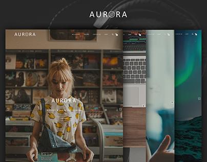 AURORA Music web-store