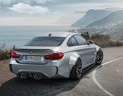 BMW M4 Liberty Walk | CGI
