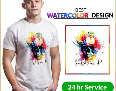 Watercolor Tshirt Bundle