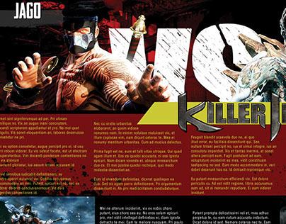 Killer Instinct Magazine Spread