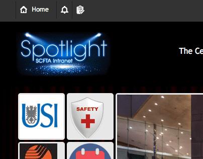 Spotlight intranet logo