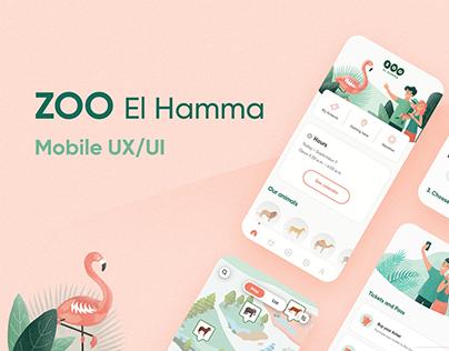ZOO El Hamma - UI/UX