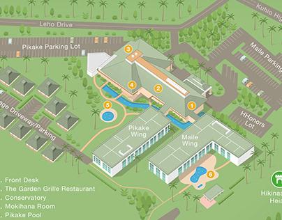 Hilton Garden Inn 3D Hotel Map