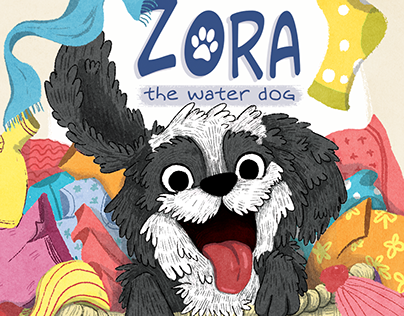 Zora - The water dog | Picture book