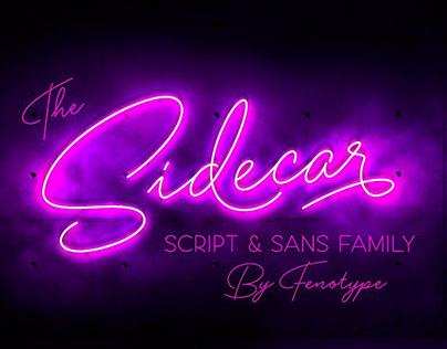 Sidecar Script &Sans Font