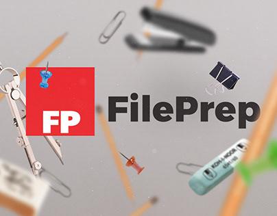 FilePrep - Logo Design