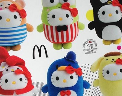 McDonald's Singapore Hello Kitty Bubbly World Promotion