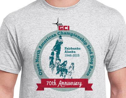 Alaska Dog Mushers Association T-Shirt