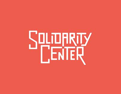 Solidarity Center - Rebrand