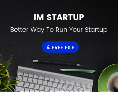 im startup One Page Theme + free file