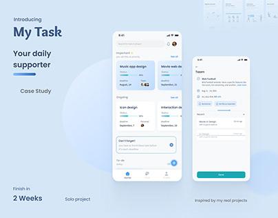 My Task Management App - Ux/Ui Design