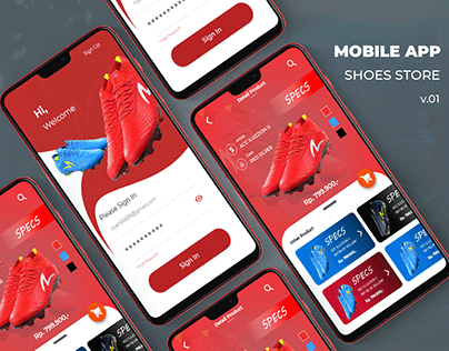 Mobile App - Shoes Store