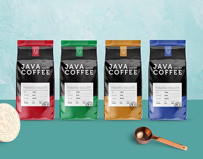 Java Coffee Branding and Packaging
