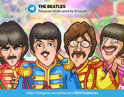 Stickers : The Beatles