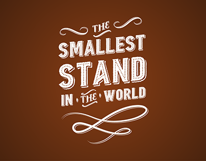 The Smallest Stand in the World