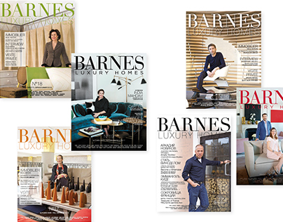 Magazines BARNES LUXURY HOMES