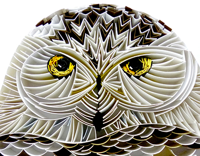 Owl - Paper Quilling