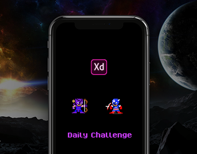 Adobe XD Daily Challenge. Leaderboard