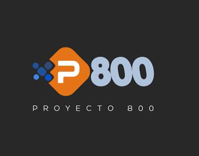 Proyecto 800 - logo design