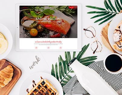 Culinary Website Design
