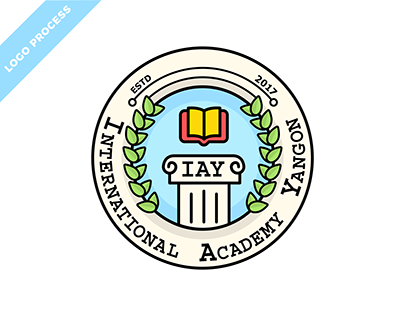 "Logo Process for ""IAY"" PRESCHOOL Branding"