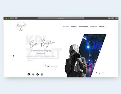 Portfolio Web Design / Portfolyo Web Tasarımı