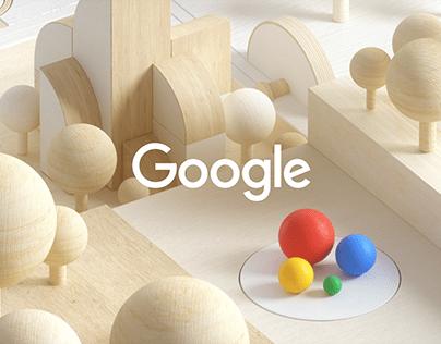 Google Monty Styleframes Exploration
