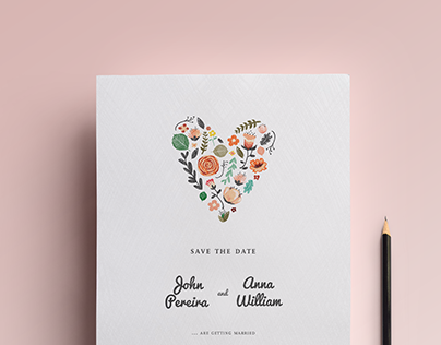Save the Date • Wedding e-card