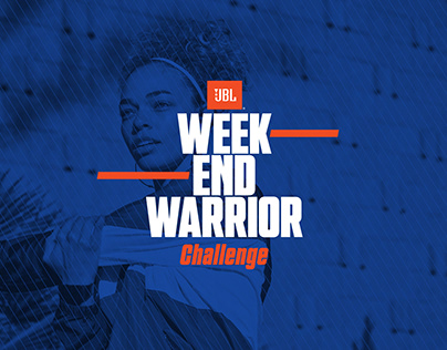 JBL Weekend Warrior Challenge Event Design