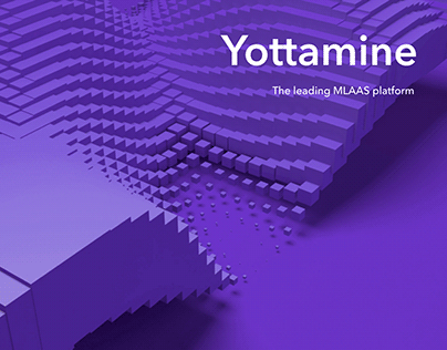 Yottamine website redesign