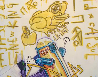 Paper GRAFF SESSION EX[BAR] - EASY TOTEM