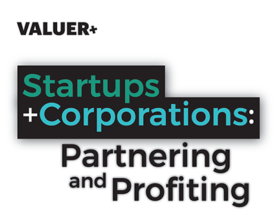 Startups+Corporations: A Valuer Infographic (Analytics)