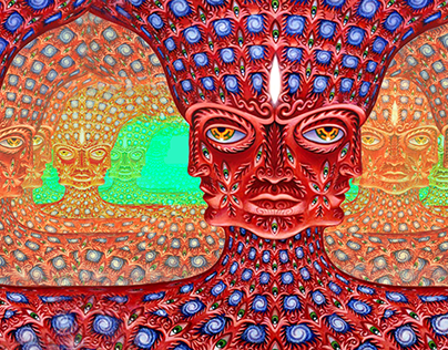 Alex Grey - Net of Being (Web Animation)