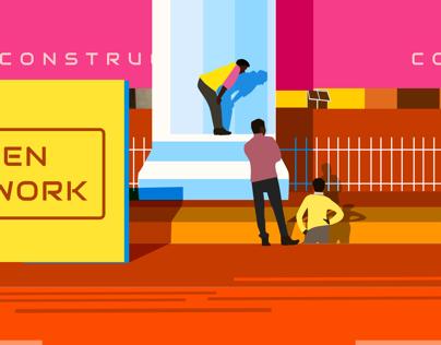 Gurgaon: city under construction
