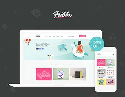 Fribbo - Freebies Blog WordPress Theme