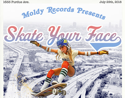 Skate Your Face Concert Poster