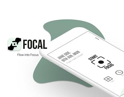 Focal: Productivity App UX Case Study
