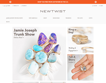 """hand-crafted designer jewelry and artisan gifts"""" United"""