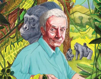 Illustration for Current Conservation Magazine
