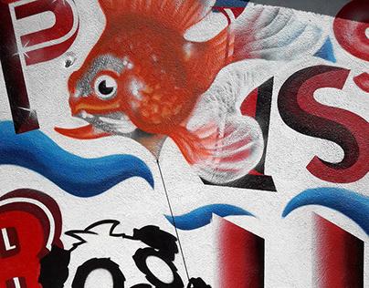 À cause d'un poisson rouge.