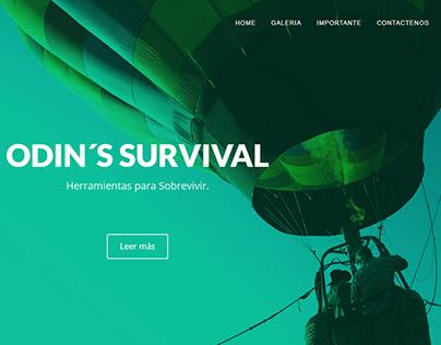 Página Web para Odin's Survival